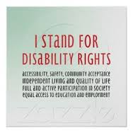 i stand for disability rights picture