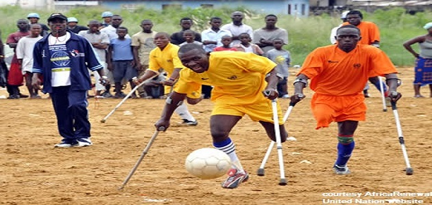Disable Football game. There is ability in disABILITY.